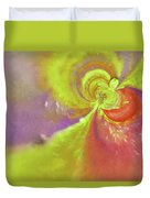 Colored Abstract Duvet Cover