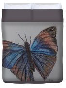 Colored Butterfly Duvet Cover