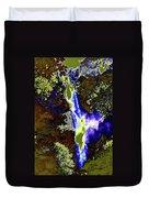 Colored Falls  Duvet Cover
