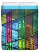 Colored Glass 10 Duvet Cover