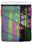 Colored Glass 11 Duvet Cover