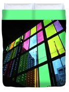 Colored Glass 3 Duvet Cover