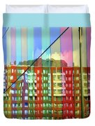 Colored Glass 6 Duvet Cover