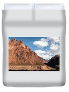 Colored Mountain Duvet Cover