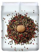 Colored Peppercorn  Duvet Cover