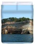Colored Rock Duvet Cover