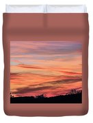 Colored Skies Duvet Cover