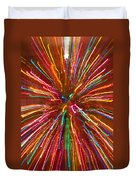 Colorful Abstract Photography Duvet Cover
