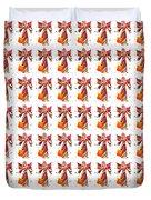 Colorful Angel Pattern Illustration Duvet Cover