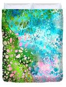 Colorful Art - Enchanting Spring - Sharon Cummings Duvet Cover