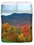 Autumnal Vermont Duvet Cover