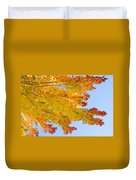 Colorful Autumn Reaching Out Duvet Cover