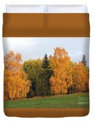 Colorful Autumn - Trees In Autumn Duvet Cover