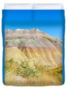 Colorful Badlands Of South Dakota Duvet Cover