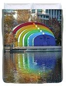 Colorful Bandshell Duvet Cover