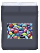 Colorful Beans Duvet Cover