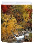 Colorful Canyon Duvet Cover