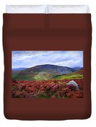 Colorful Carpet Of Wicklow Hills Duvet Cover