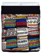 Colorful Cartagena Duvet Cover