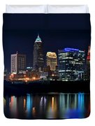 Colorful Cleveland Duvet Cover