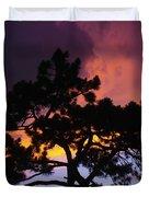 Colorful Colorado Sunset Duvet Cover