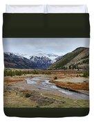 Colorful Colorado Valley Duvet Cover