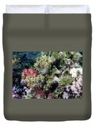 Colorful Coral Reef Duvet Cover