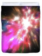 Colorful Cosmos Duvet Cover