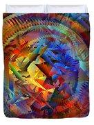 Colorful Crash 10 Duvet Cover