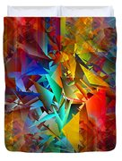 Colorful Crash 11 Duvet Cover