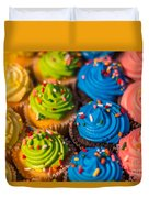 Colorful Cupcake Duvet Cover