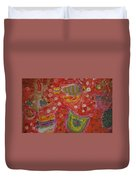 Colorful Deep Sea Duvet Cover