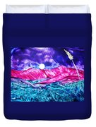 Colorful Desert Duvet Cover