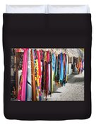 Colorful Dominican Garments Duvet Cover