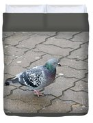 Colorful Dove Duvet Cover