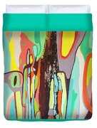 Colorful Earth Day Duvet Cover