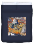 Colorful Earth History Duvet Cover