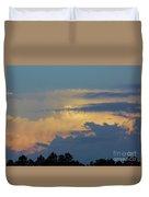Colorful Evening Sky Duvet Cover