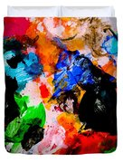 Colorful Expression 13 Duvet Cover