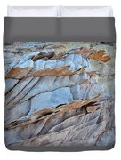 Colorful Fins Of Sandstone In Valley Of Fire Duvet Cover