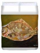Colorful Flounder Duvet Cover