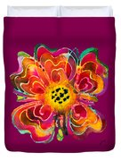 Colorful Flower Art - Summer Love By Sharon Cummings Duvet Cover