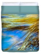 Colorful Flowing Water Duvet Cover