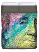 Colorful Franklin Duvet Cover