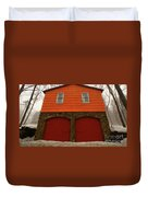 Colorful Garage Duvet Cover