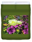 Colorful Garden II Duvet Cover
