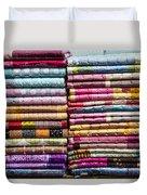 Colorful Garment Duvet Cover
