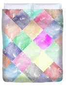 Colorful Geometric Patterns IIi Duvet Cover