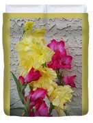 Colorful Glads Duvet Cover