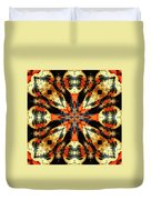 Colorful Gourds Abstract Duvet Cover